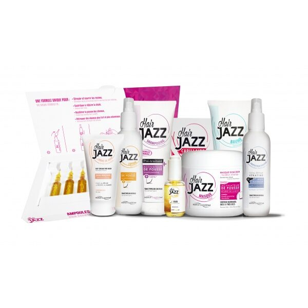 HAIR JAZZ 9 set - für Haarwuchs